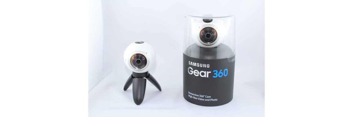 Ab sofort im Verleih: Samsung Gear 360 - Neu im Verleih die Samsung Gear 360