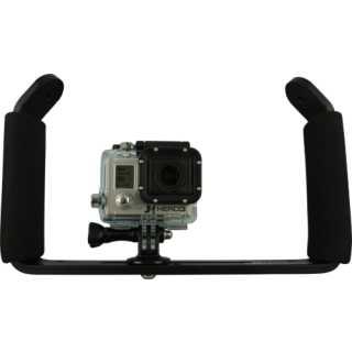 Tauchstativ 2 Griffe mit GoPro Halterung - Mietartikel