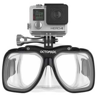 Tauchmaske mit GoPro Halterung - Mietartikel